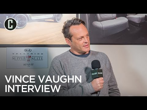 Vince Vaughn Interview Fighting With My Family