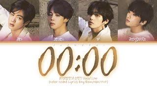 Download lagu BTS (방탄소년단) - 00:00 (Zero O'Clock) (Color Coded Lyrics Eng/Rom/Han/가사)