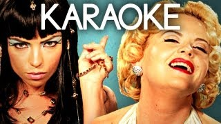 [KARAOKE ♫] Cleopatra vs Marilyn Monroe. Epic Rap Battles of History. [INSTRUMENTAL]