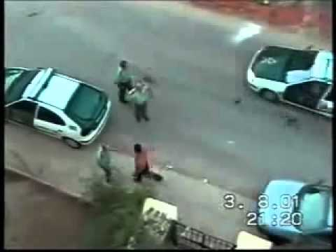 drunk street fighter VS 3 cops police