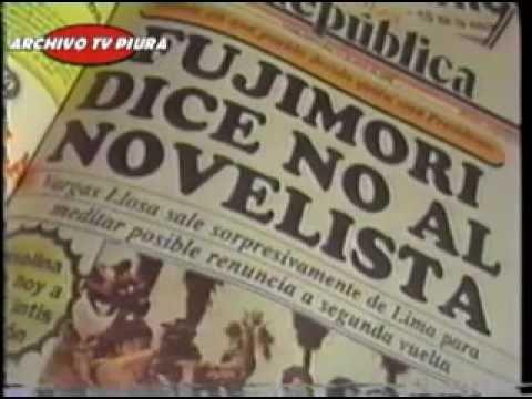 Alberto Fujimori Aplastó  de Manera Humillante a Vargas LLosa