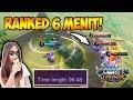 CUMA 6 MENIT DI RANKED MATCH !! MUSUH AMPE NYERAH - MOBIE LEGENDS INDONESIA #7 MP3
