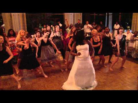 Zumba Flash Mob  @ Wedding Reception