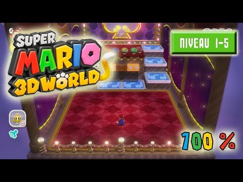 Super Mario 3D World à 100% : Niveau 1-5