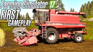 Farming Simulator 17 |My First Gameplay