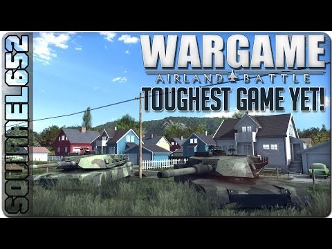 Wargame Airland Battle - Toughest Game yet! (British Deck)