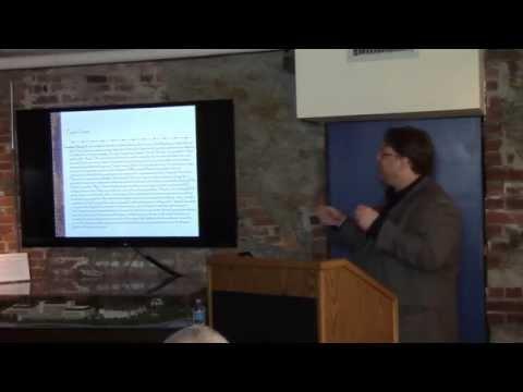 8 Bells Lecture | David Ranzan and John Wolter: The Journal of William Speiden Jr., 1852-1855
