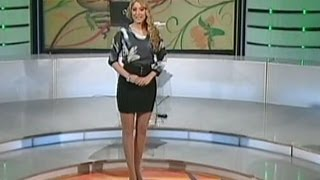 Kristina Radenkovic Beautiful Serbian Tv Presenter 28.08.2012