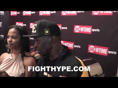FLOYD MAYWEATHER SR ON MAIDANA BITE I WAS READY TO GO TO WARBITE HIS ASS TOO