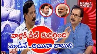 TDP Leader Jupudi Prabhakar Reveals Why National Media Support To Jagan  #PrimeTimeDebate