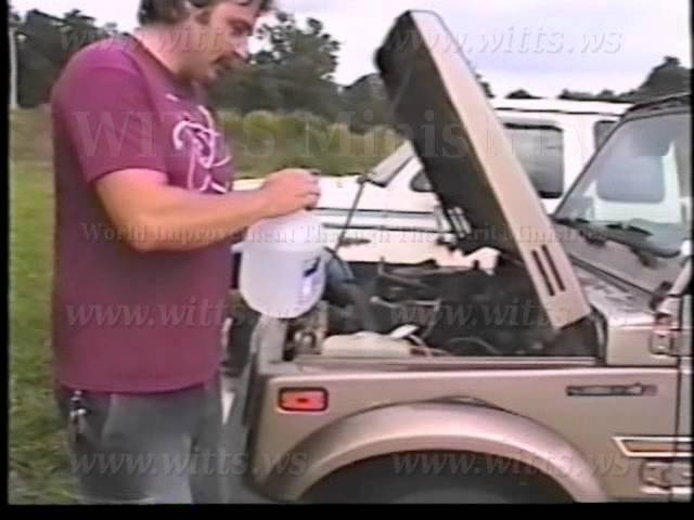 100% Water Powered Suzuki Samurai [witts.ws]
