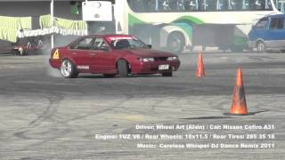 Video 4: Cefiro 1UZ V8 - Wheel Art (Alvin)