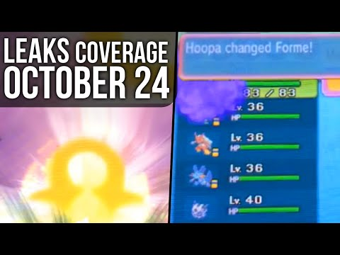Pokémon Omega Ruby And Alpha Sapphire Leaks Coverage - October 24 2014 video