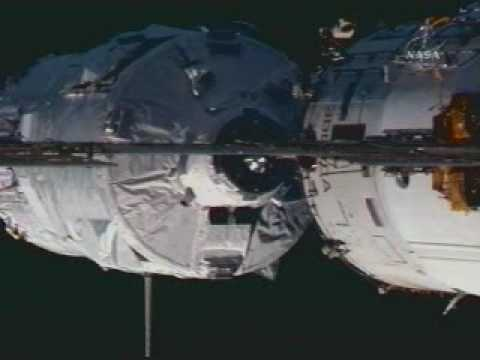 "ESA ATV ""Jules Verne""docking: April 3, 2008"
