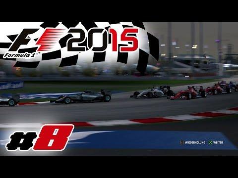Hartes Duell - Rennen Bahrain GP - F1 2015 #8