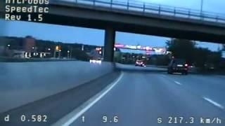 Polisens egna material från omtalad mc-jakt med dödlig utgång, Stockholm 2011-07-20