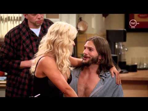 Jenny McCarthy Hot Scene in Two and Half Men