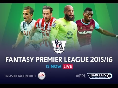 MY PREMIER LEAGUE FANTASY FOOTBALL 2015/16 SEASON
