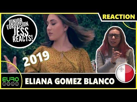 MALTA JUNIOR EUROVISION 2019 REACTION: Ella Gomez Blanco - We Are More | JESS REACTS!
