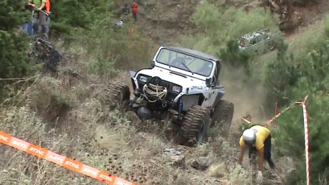 Jeep Wrangler Extreme Off Road Competition Youtube