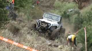 Jeep Wrangler extreme off road competition
