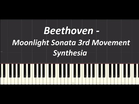 how to play moonlight sonata synthesia