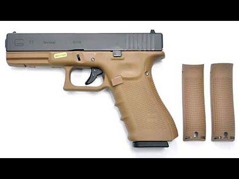 Glock G17 gen4 WE - desmontar, limpiar, engrasar y montar la pistola de airsoft