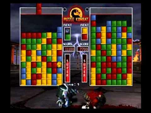Mortal Kombat Deception Puzzle Kombat - Sub-Zero