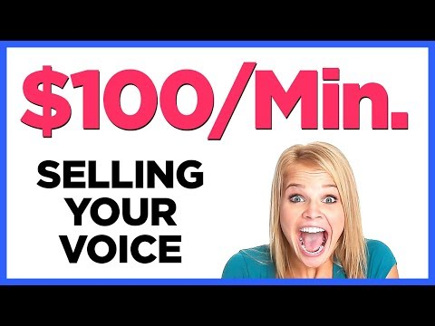 How To Sell Your Voice And Earn Big Money