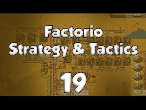 Factorio Strategy & Tactics 19: Iron Siphon
