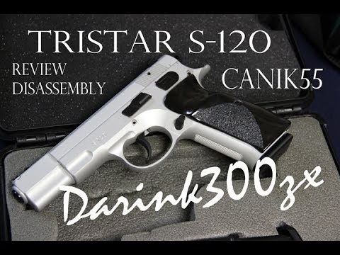 Tristar Canik55 S120 Review. Disassembly