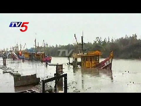 Cyclone Roanu Effect | 25 Fishermen Missed In Nellore | AP |  TV5 News