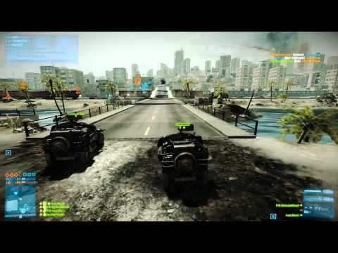 Battlefield 3 Death Race on Karkand