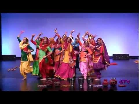 Raunak Trinjana Di  Tor Punjaban Di Giddha Competition 2012