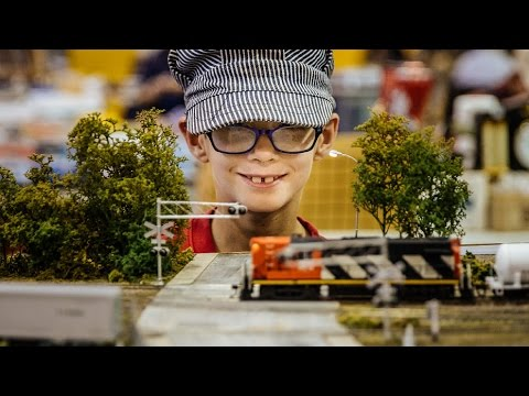Model Train Exposition at Sun Youth