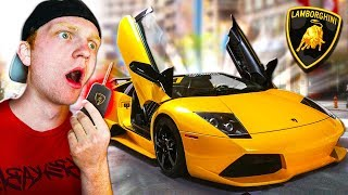 STEALING A FAMOUS YOUTUBERS SUPERCAR..