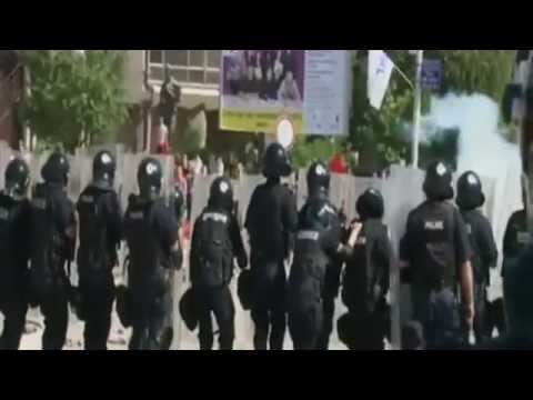 Clashes in Kosovo's Mitrovica over bridge blockade