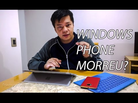 É o fim do Windows Phone?