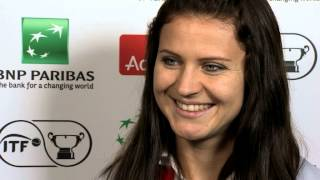 2014 Fed Cup Final | Official Fed Cup - Lucie Safarova Draw Interview