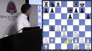 Seirawan vs. Korchnoi | Wijk aan Zee | The English - GM Yasser Seirawan