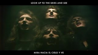 Queen - Bohemian Rhapsody (Lyrics In Spanish & English / Letras en Inglés y en Español)