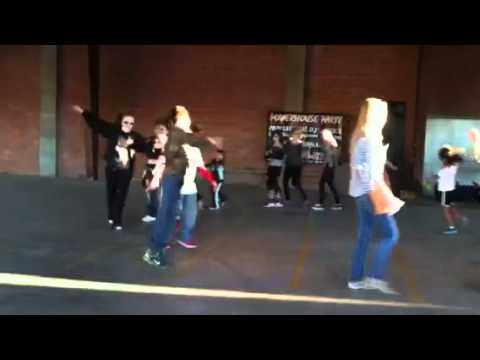 Austin dancing.  4