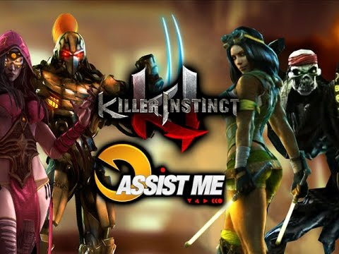 ASSIST ME! FULGORE, ORCHID, SPINAL, SADIRA: Killer Instinct Season 2 Official Change Log (Part 3)