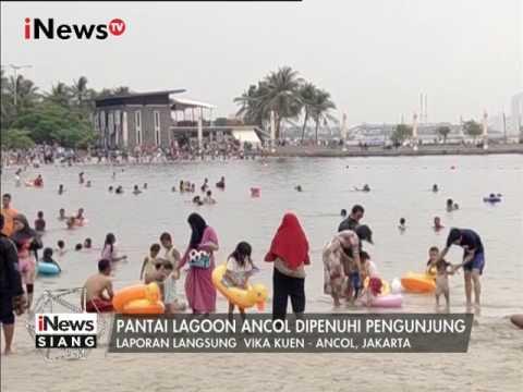 Libur Imlek, Warga Padati Kawasan Wisata Pantai Ancol - iNews Siang 28/01