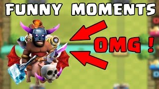 Clash Royale Most Funny Moments, Fails, Clutches, Trolls Compilation