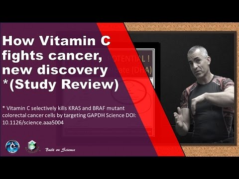Vitamin C fights cancer in an unusual way