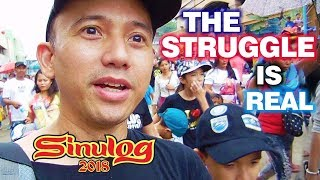 Sinulog 2018 And The Struggle Journey Going To The Basilica Del Sto Niño De Cebu Philippines