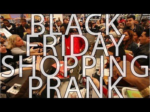 BLACK FRIDAY SHOPPING PRANK 2013