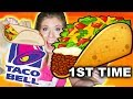 AUSTRALIAN TRIES TACO BELL FOR FIRST TIME (Mukbang)