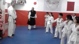 exercise in the Shorinji Kempo